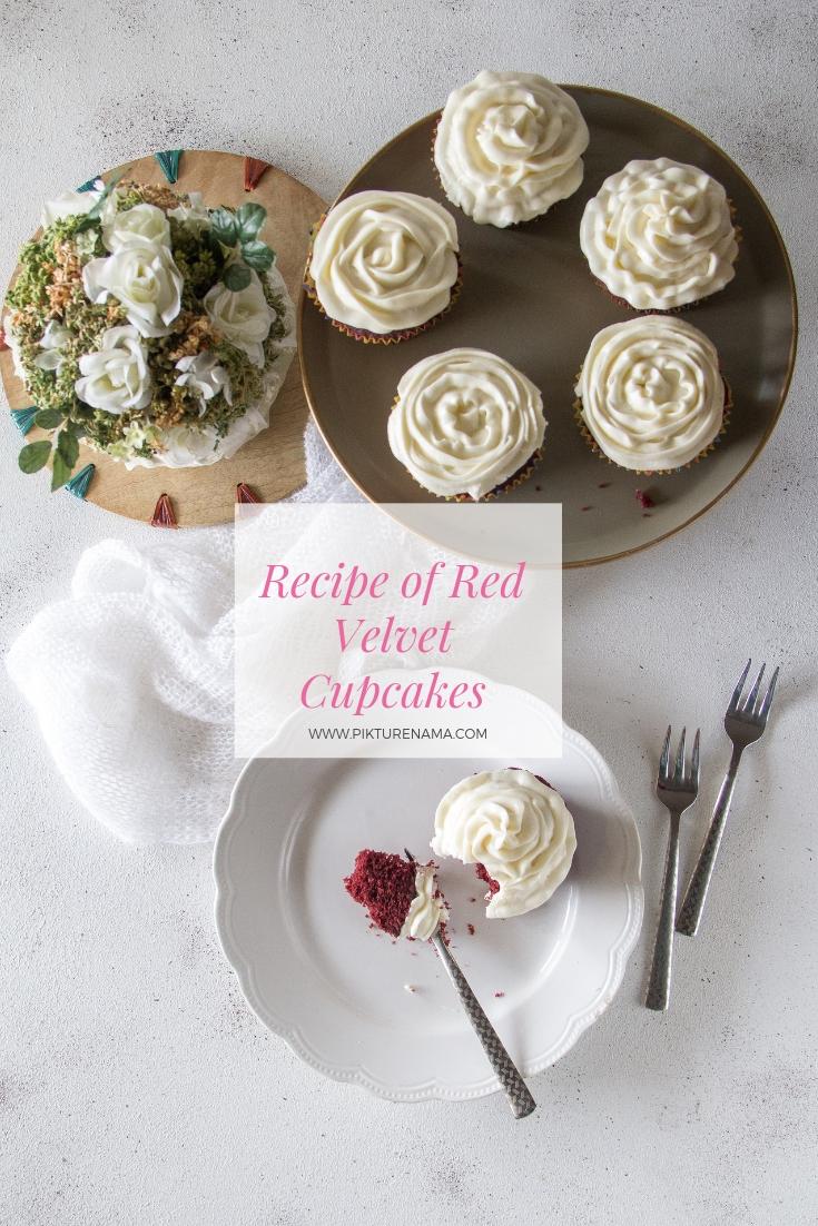 Red velvet cupcakes Pinterest - 1
