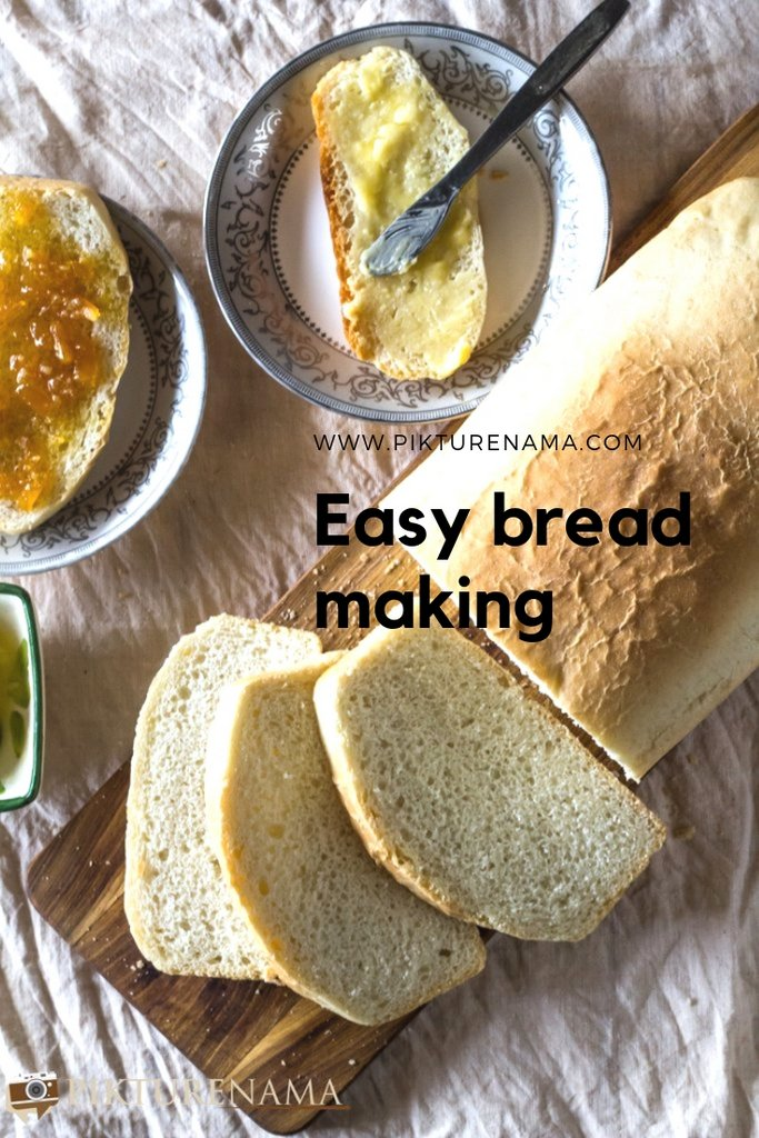 Baking a bread pinterest 1