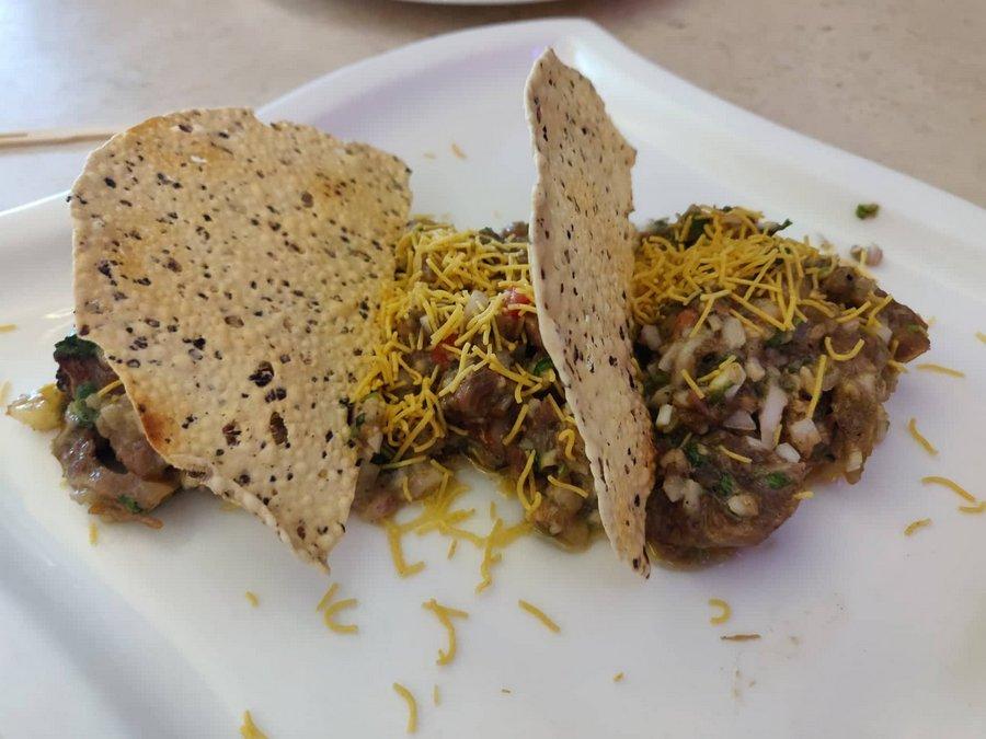 Bohemian Kolkata - New menu Malai muton chaat