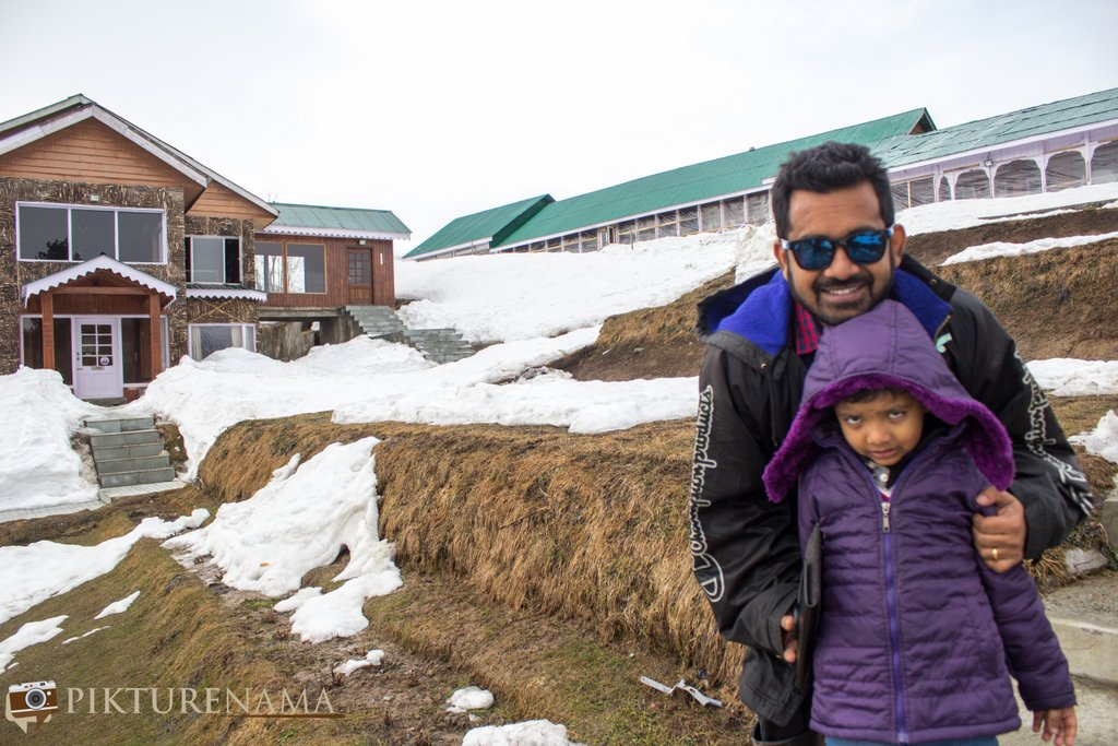 Nedous Hotel Gulmarg Kashmir 130 year old photo