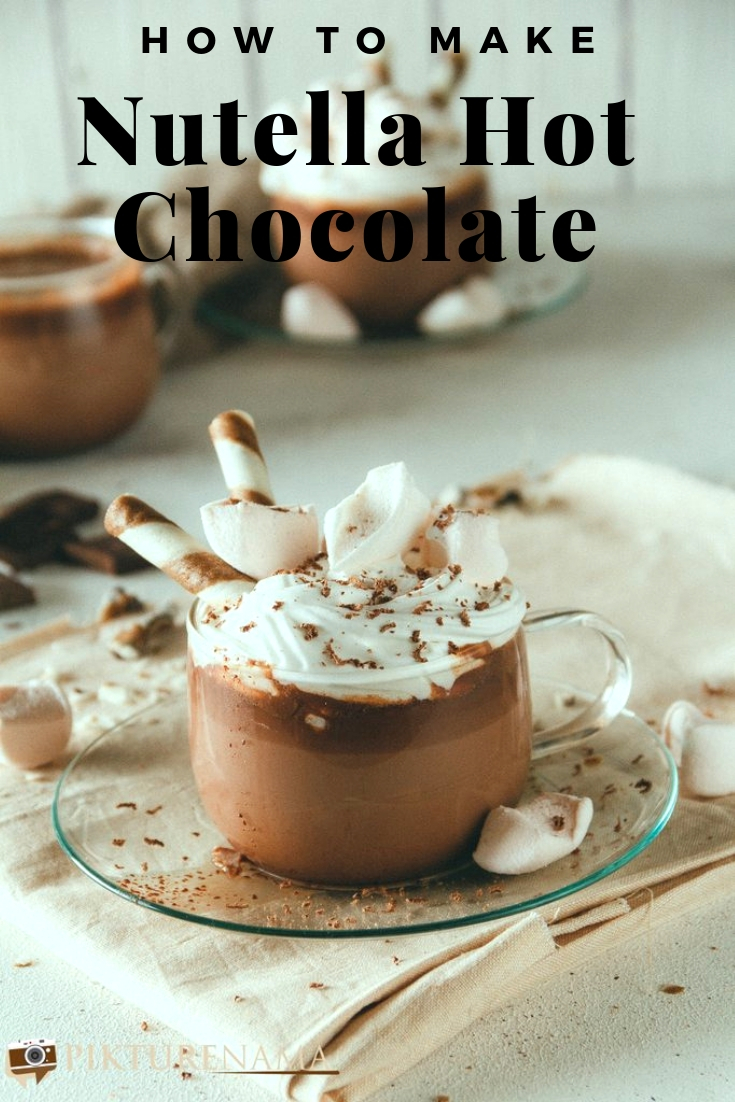 How to make Nutella Hot Chocolate -1