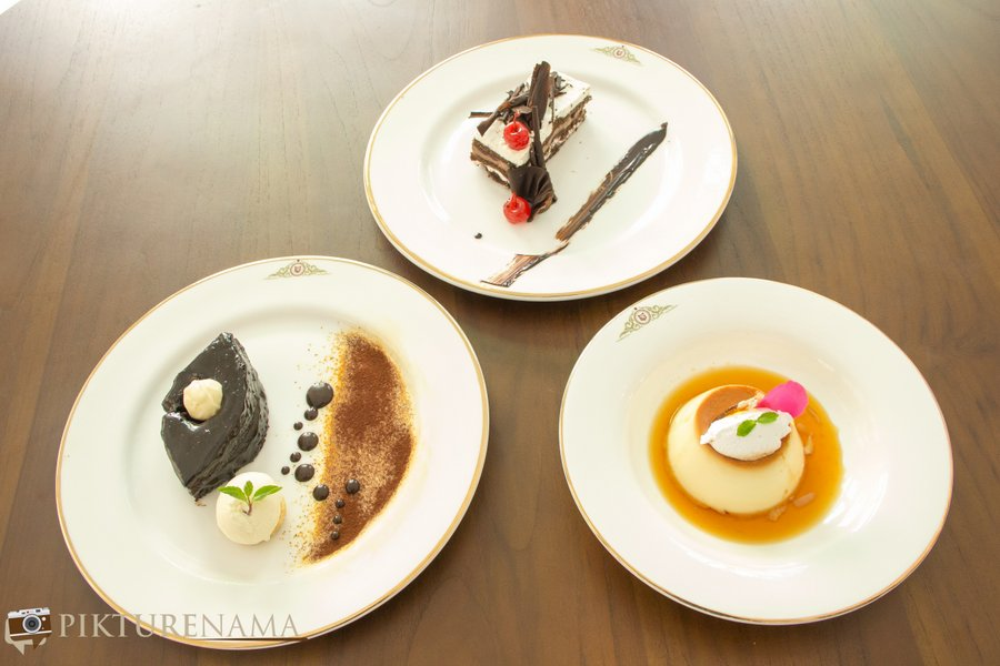 Raajkutir East India Room desserts