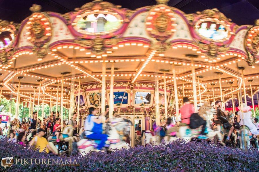 Cinderella Carousel at Hong Kong Disneyland - 14