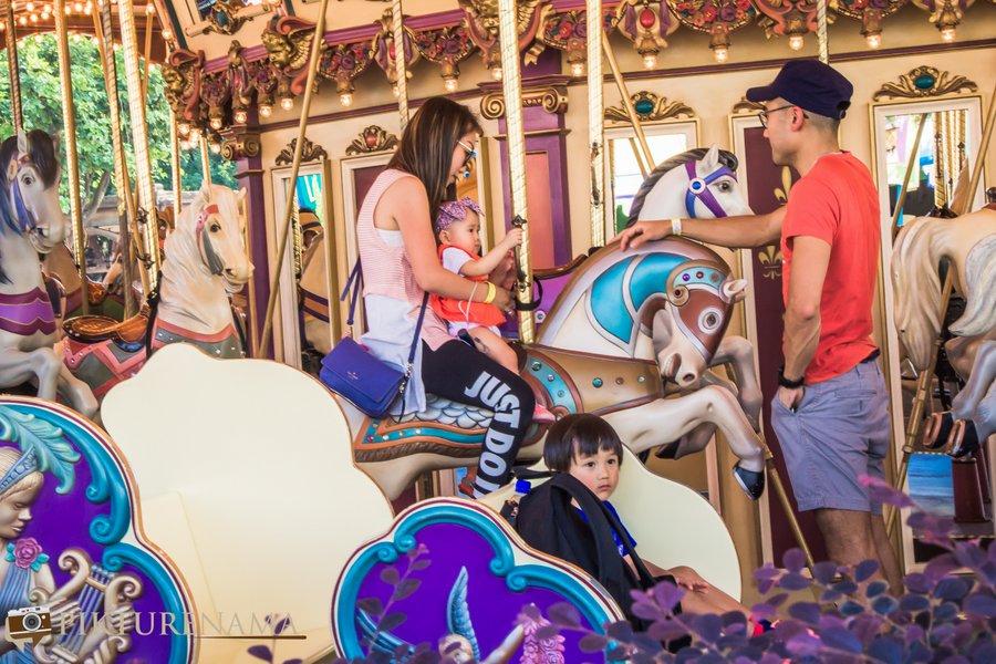 Cinderella Carousel at Hong Kong Disneyland - 2