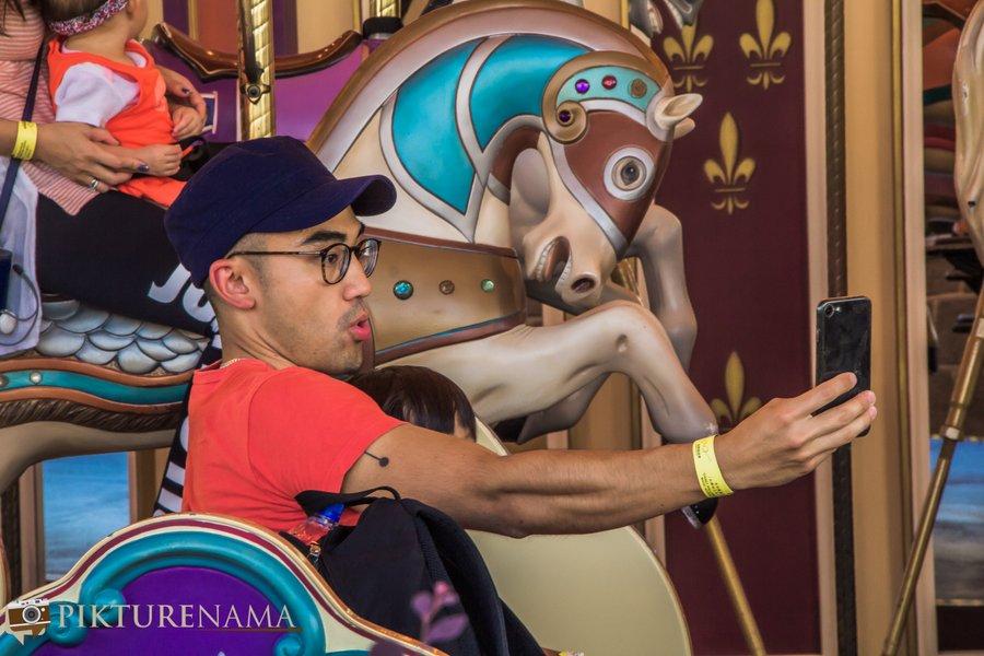 Cinderella Carousel at Hong Kong Disneyland - 4