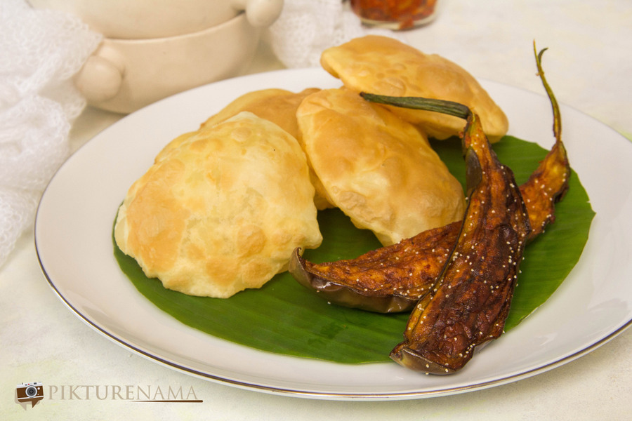 How to make a perfect bengali luchi - 1