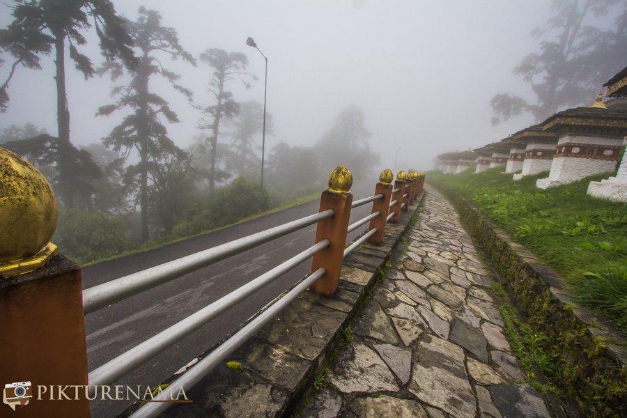 Dochula Pass Thimpu Bhutan - 7
