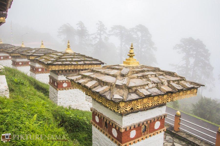 Dochula Pass Thimpu Bhutan - 9