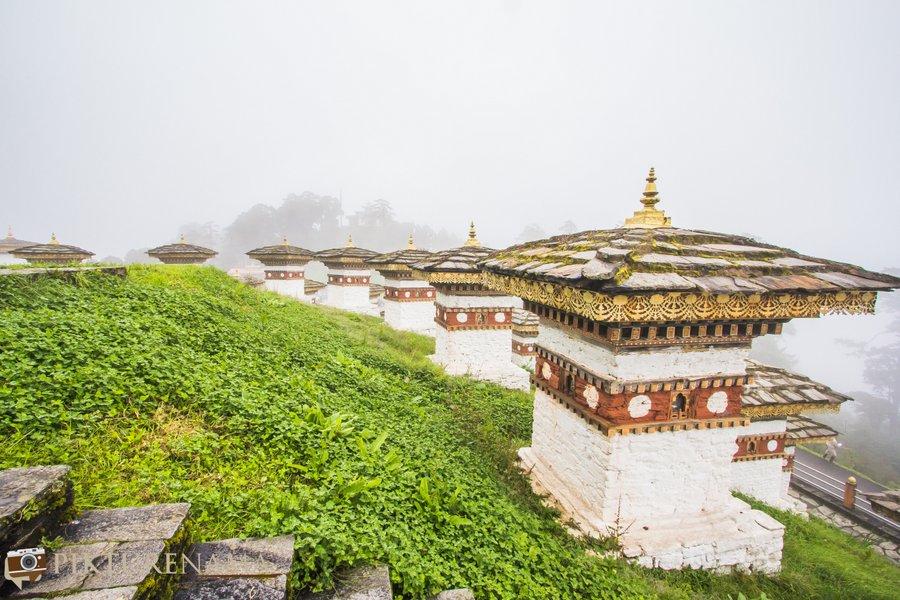 Dochula Pass Thimpu Bhutan - 12