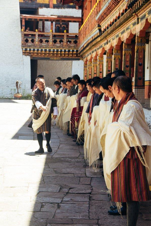 Inside Punakha Dzong Bhutan - 7