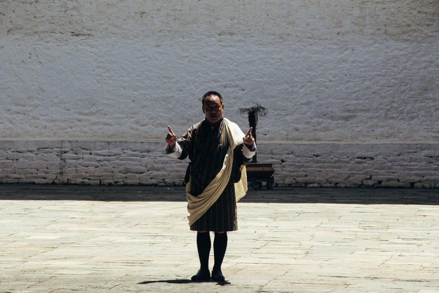 Inside Punakha Dzong Bhutan - 11
