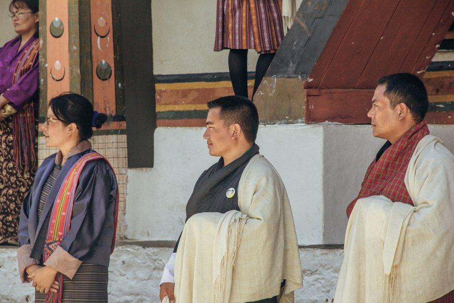 Inside Punakha Dzong Bhutan - 22