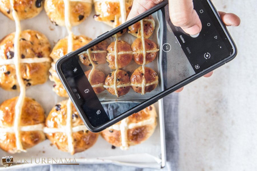 How to make Hot Cross Buns - 1