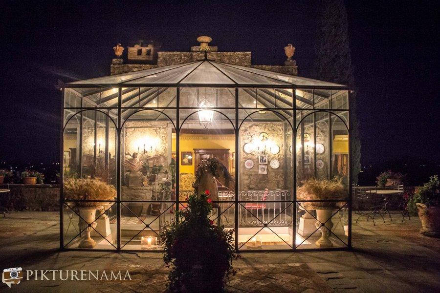 Il Falconaire Tuscany Italy restaurant 2