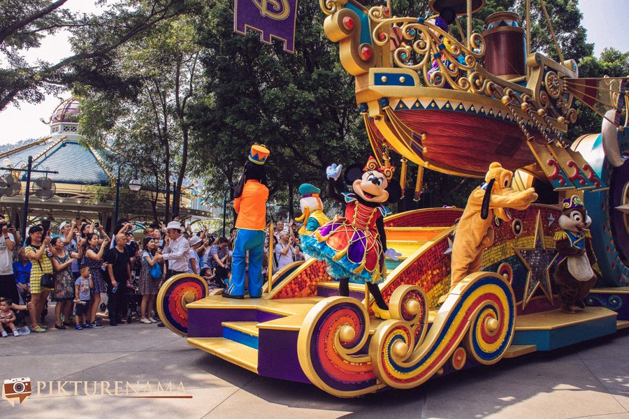 Flights of Fantasy in Hong Kong DIsneyland - 14