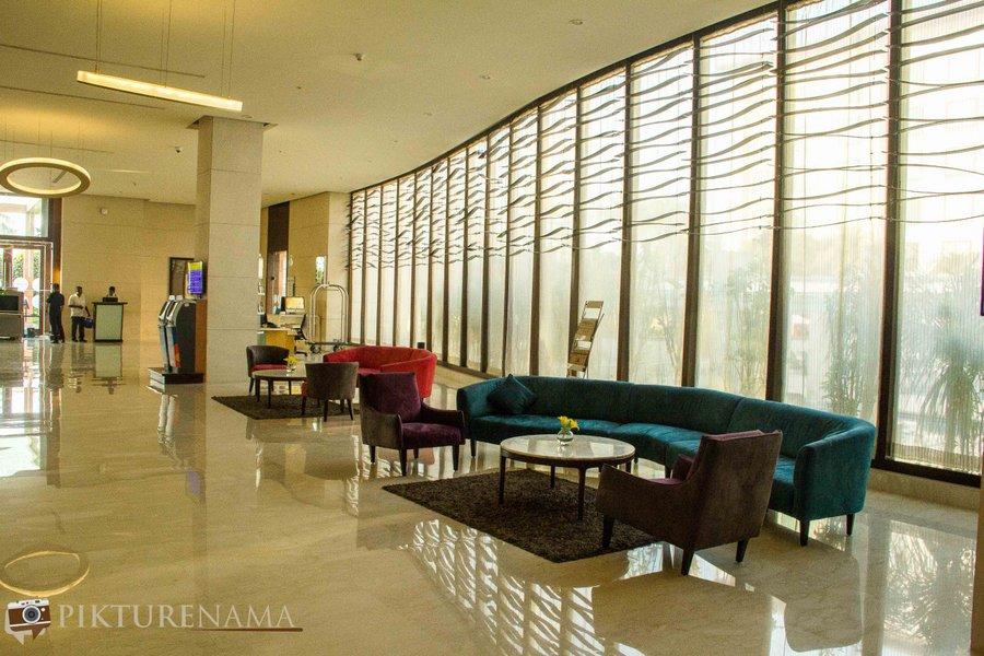 Novotel Hyderabad Airport lobby 4