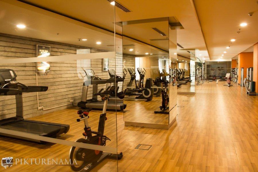 Novotel Hyderabad Airport gym