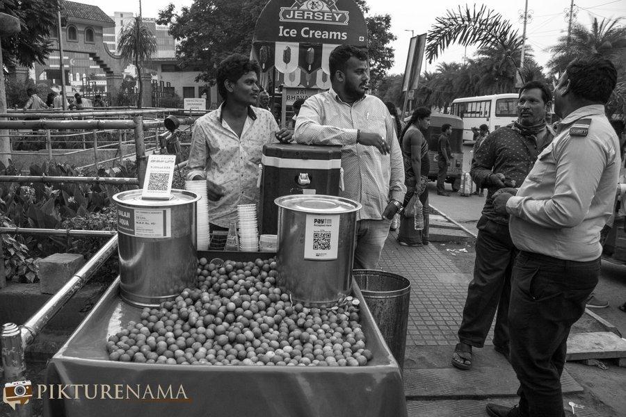 shilparamam Hyderabad the nimbu pani wala