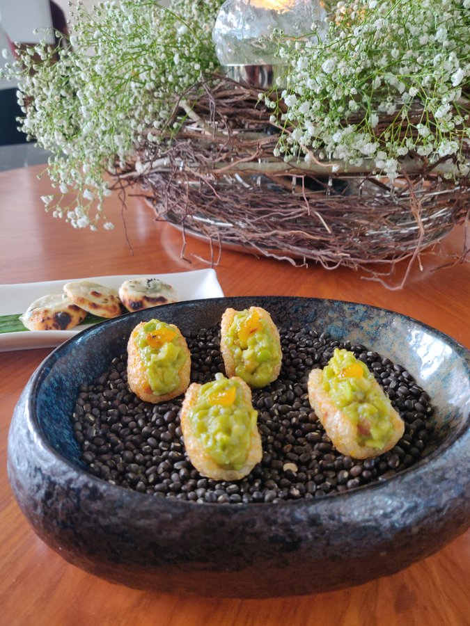 Chef Manish Mehrotra and tasting menu at Indian Accent - 3