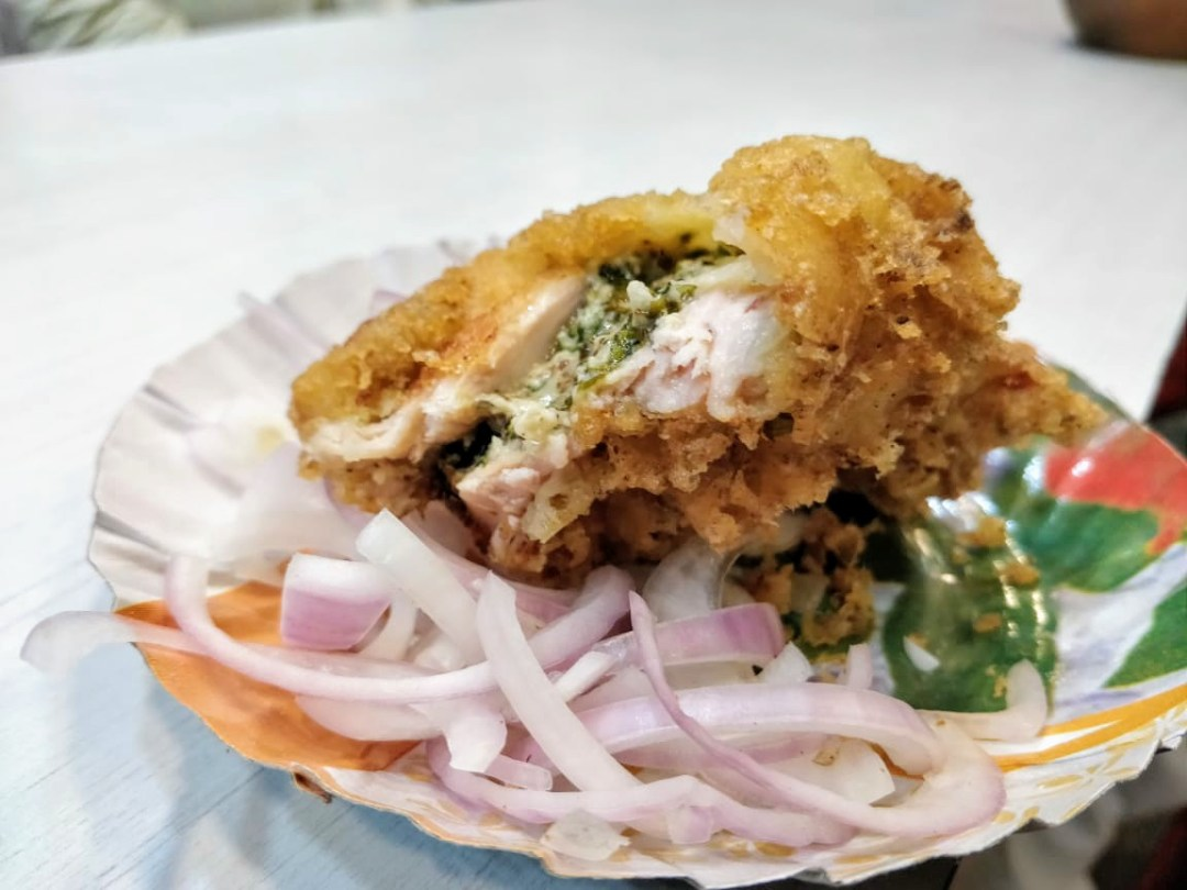 Sankar's Fish fry - The king of fish fry cheesy chicken