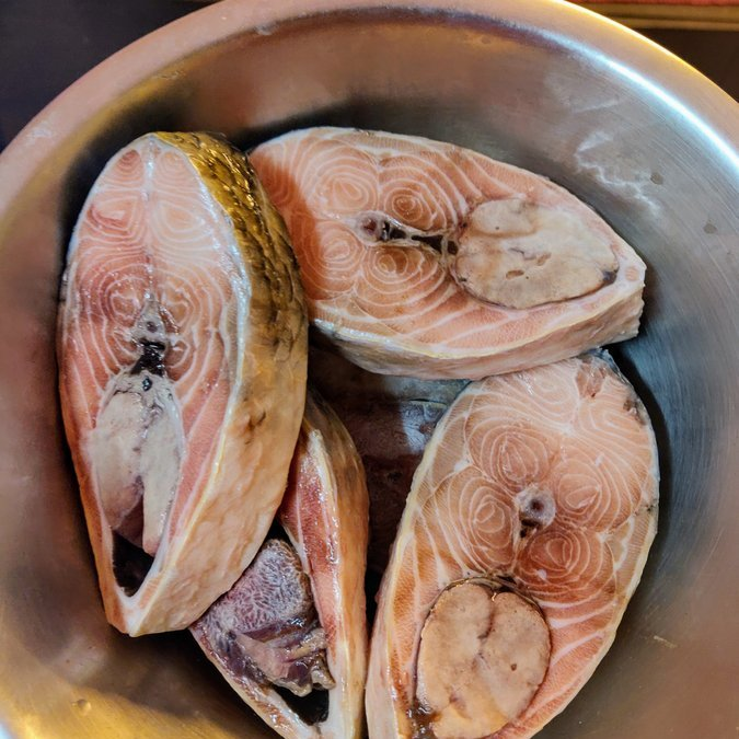 The first and the last Ilish cooked at home this season