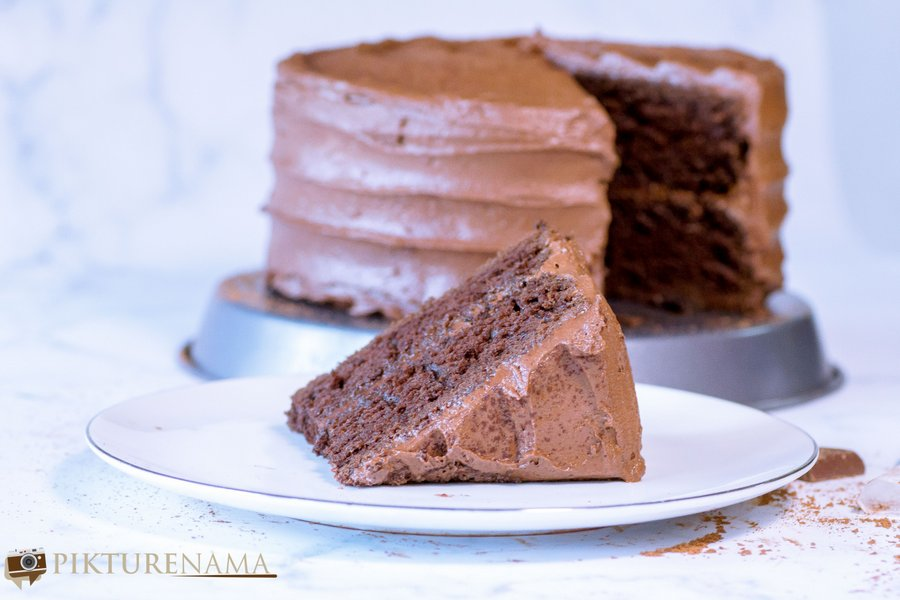 The best chocolate cake for a simple birthday celebration