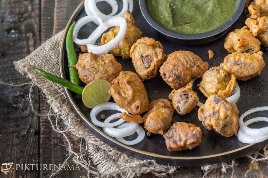 Spicy Mutton Pakoda - 6