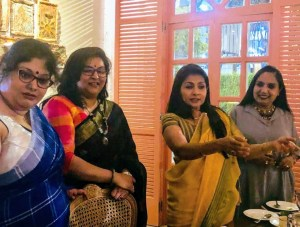 With Ms. Sangita Kathiwada