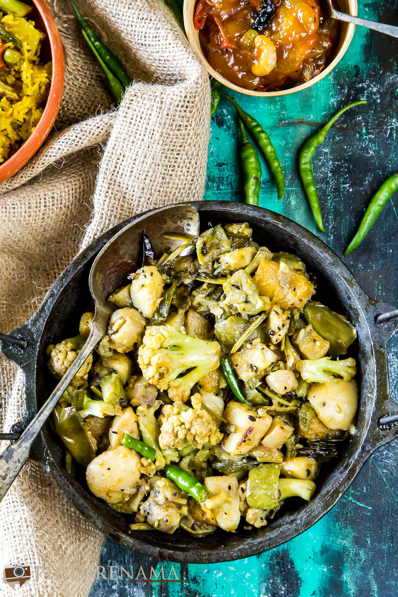 Labra bengali Style mixed fried vegetable - 3