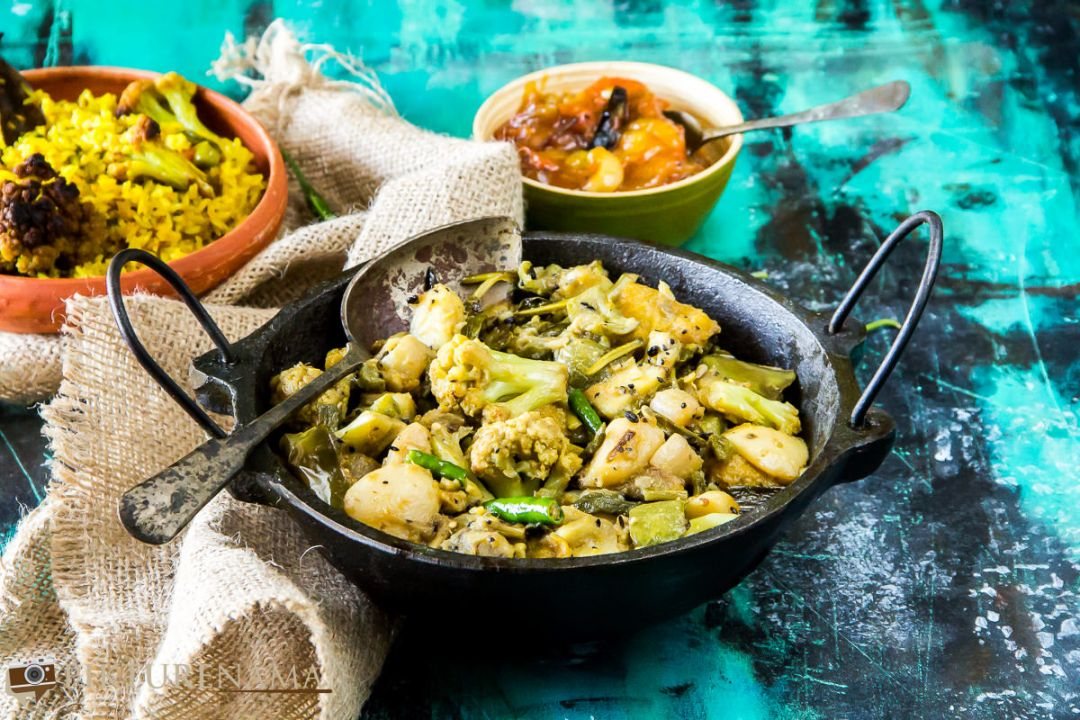 Labra bengali Style mixed fried vegetable - 4