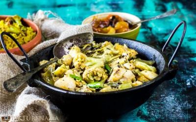 Labra- Bengali Mixed Vegetable with Khichuri