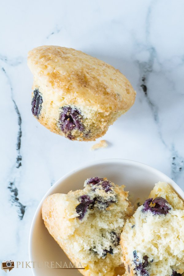 blueberry muffins - 3