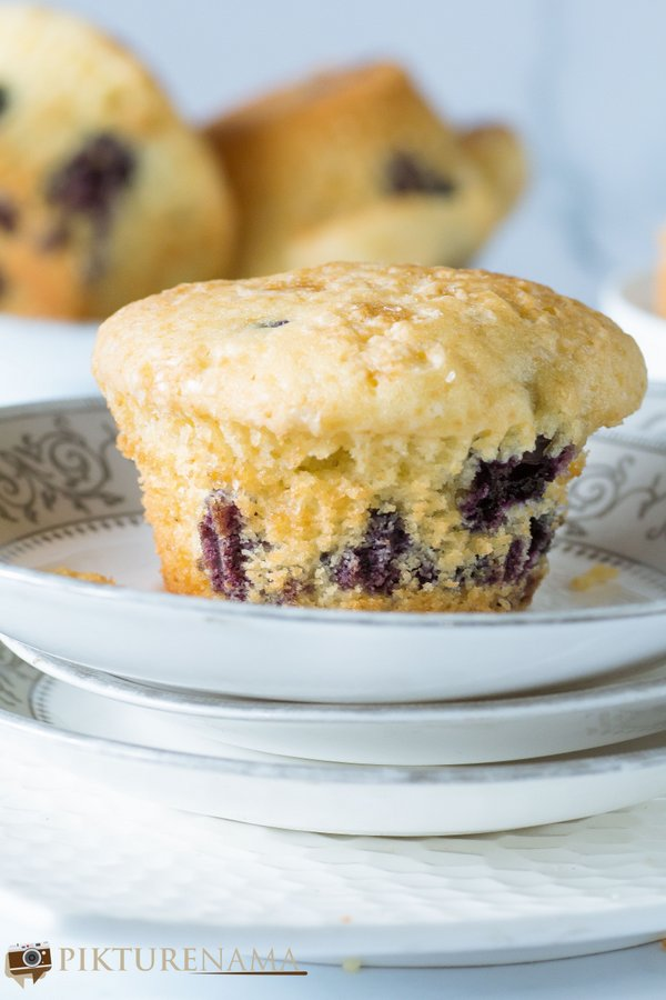 blueberry muffins - 6