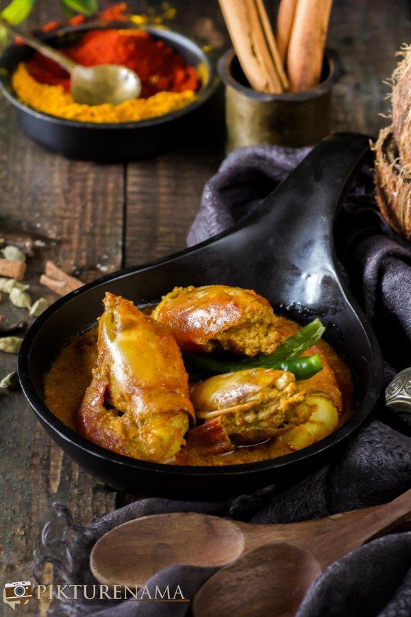 Chingri Malakari / Prawn Malai Curry -1
