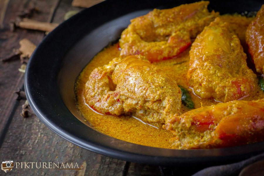 Chingri Malakari / Prawn Malai Curry - 7