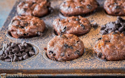 Best Chocolate Banana Muffins Recipe