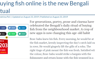 Buying fish online is the new Bengali ritual