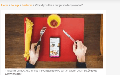 Would you like a burger made by a robot?