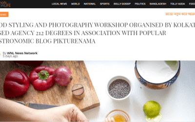 Food Styling and Photography workshop covered by Whatsnewlife