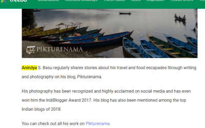 Top Indian Photo Travel Blogger
