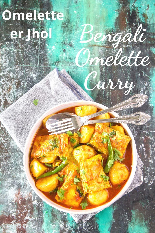 Omelette Curry Pinterest