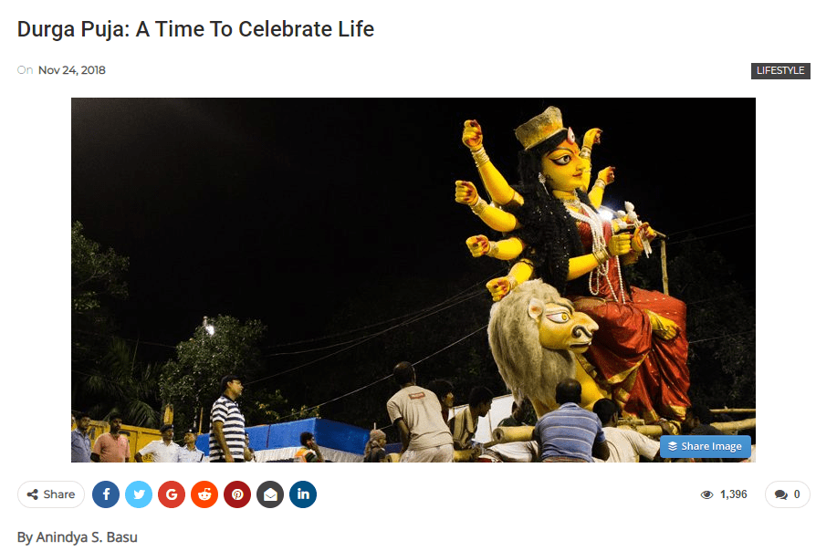 Durga Puja in The Traveller Trails