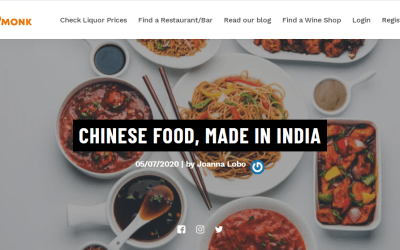 Chinese food in India in Sodamonk