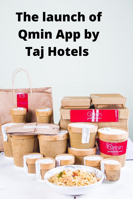 Qmin Appby Taj Hotels Pinterest