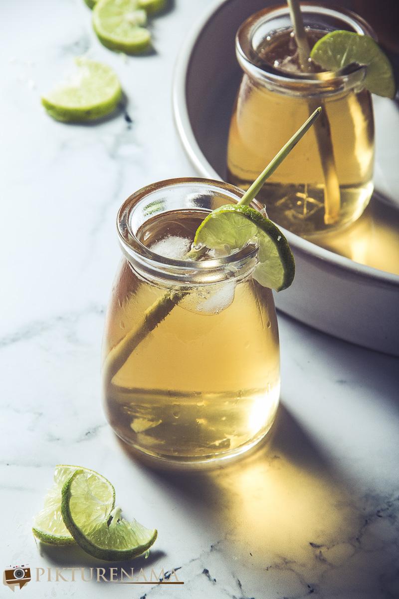 Lemongrass iced tea - 6