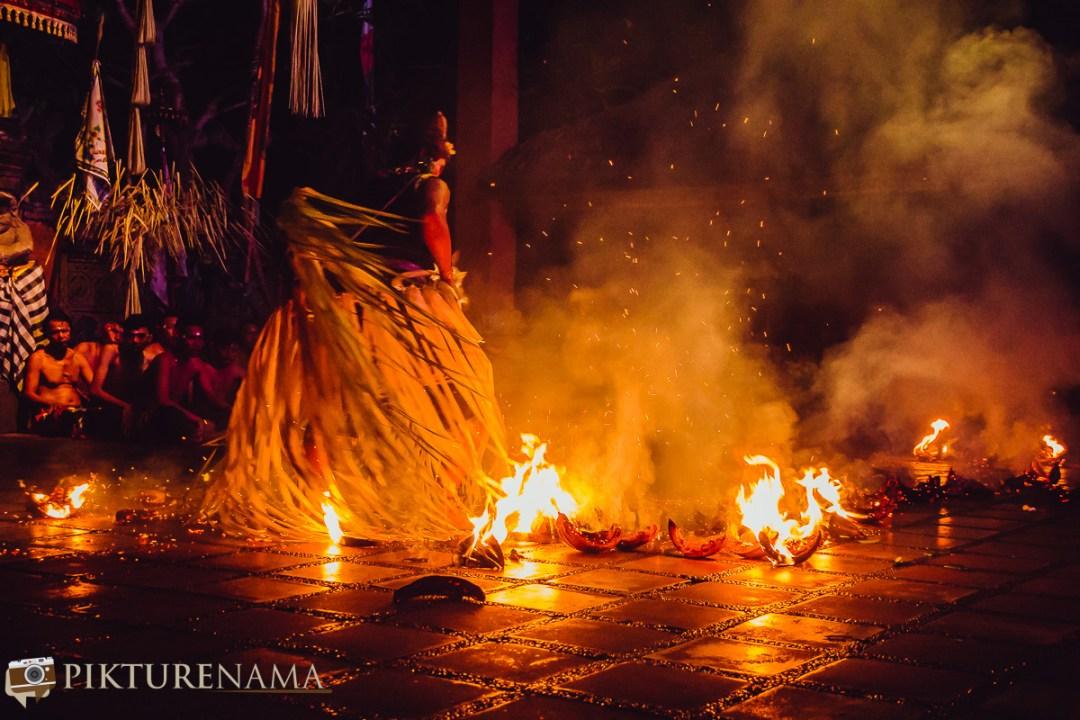 Kecak dance fire sequence