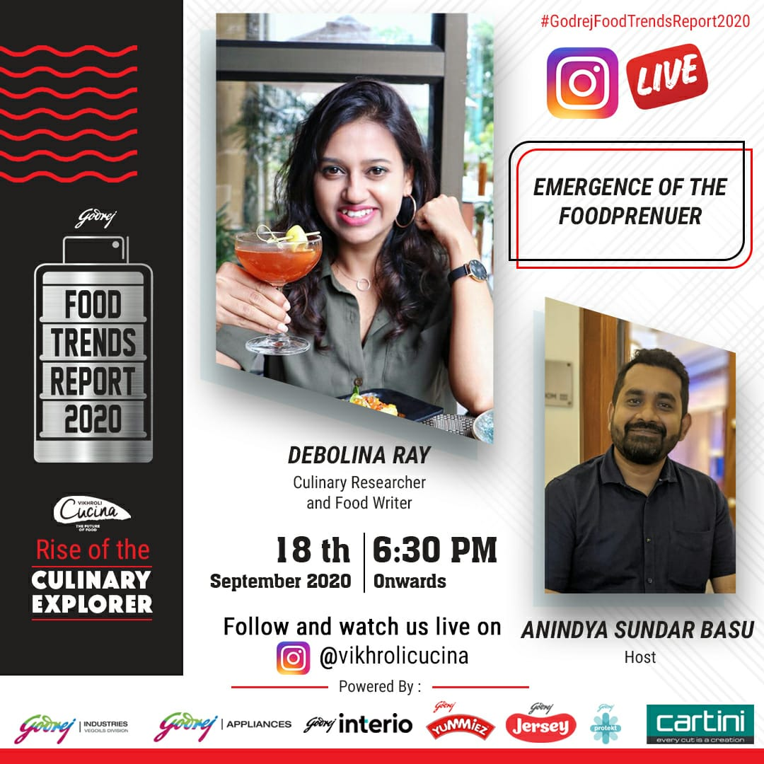 vikhroli cucina conversations on Godrej Food Trend Report Emergence of Foodpreneur