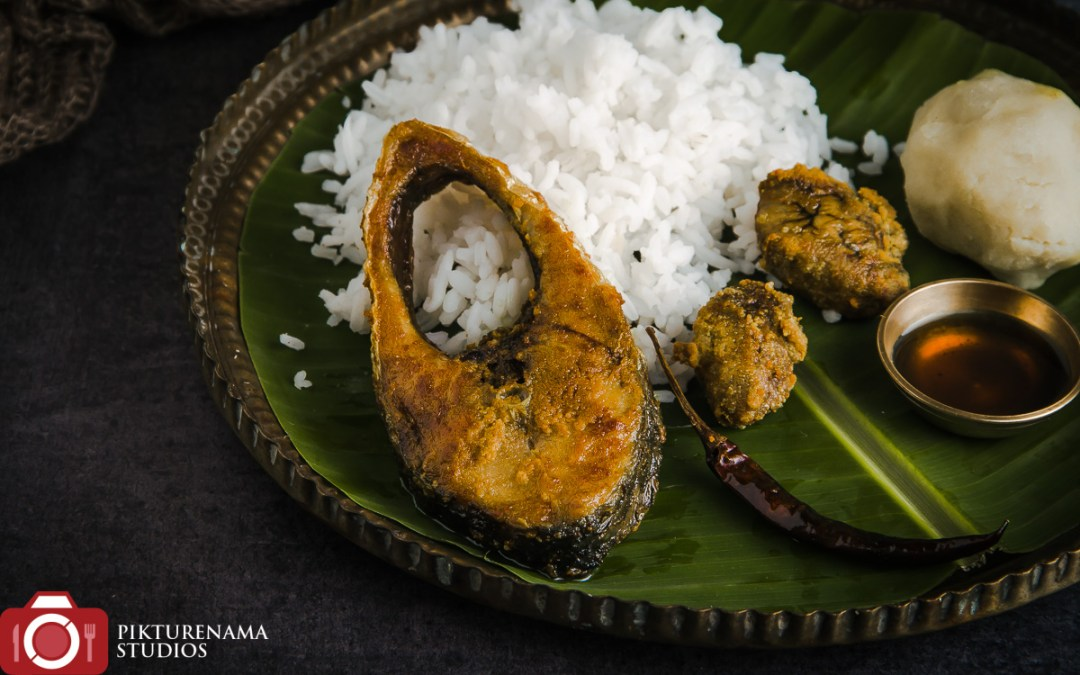 Ilish Maach Bhaja and Ilisher tel | Hilsa Fish Fry