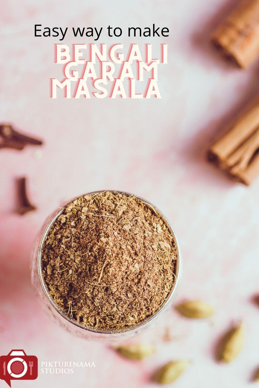 how to make bengali Garam Masala - Pinterest