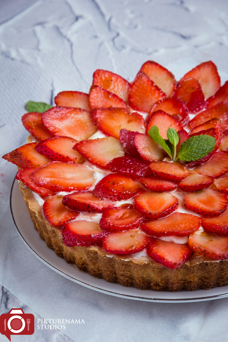 How to make Strawberry Tart easy way